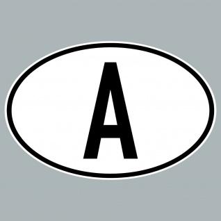 A Aufkleber Auto Sticker AUT AT Österreich Land Länderkennzeichen 4061963019863