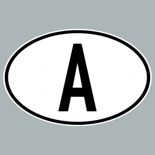 A Aufkleber Sticker Österreich Länderkennung Länderkennzeichen 4061963019863