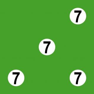 4 Stück Startnummer Kreis + Ziffer Auto Start Wunschziffer Wunsch Nummer Zahl