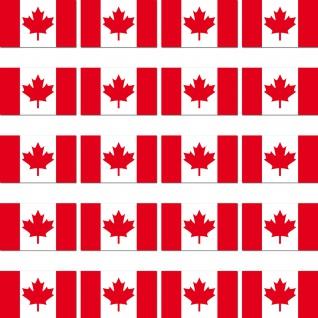 20 Aufkleber 2cm Kanada CDN CA Modellbau Mini Sticker Länder Flagge Fahne RC
