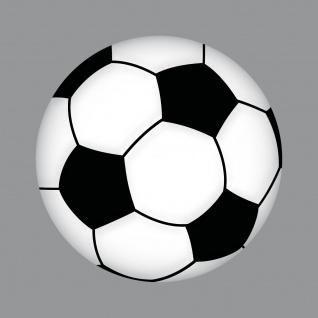 Aufkleber 15cm Sticker Ball Fußball Fan Fußballaufkleber Fußballsticker EM WM - Vorschau 5