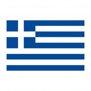 3 Aufkleber 8, 5cm Sticker GR Griechenland Fußball EM WM National Flagge Fahne - Vorschau 4