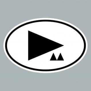 Aufkleber d m Delta Länderkennzeichen Auto Sticker Depeche Mode 4061963019597