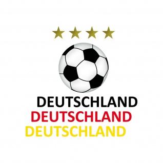 Set S Aufkleber Tattoo Auto Deko Sticker + Folien Fußball Fan EM WM Deutschland