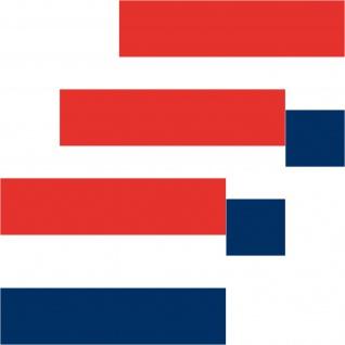 3 Aufkleber 6cm Sticker NL Niederlande Holland Fußball Deko EM WM Flagge Fahne