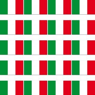 100 Aufkleber 2cm Sticker Italien Italy Länder Fahne Flagge RC Modellbau Mini