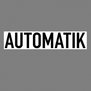 Aufkleber Automatik 20cm Sticker Hinweis Auto Pkw Kfz Verkauf 4061963018163