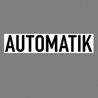 Aufkleber Automatik 20cm Sticker Hinweis Auto Pkw Kfz Verkauf Händler Handel
