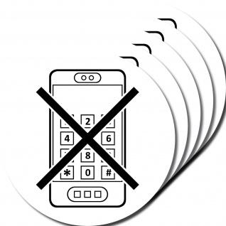 Aufkleber 10cm Sticker Handy smartphone benutzen Verbot telefonieren verboten