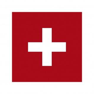10 Aufkleber 7cm Sticker Schweiz Swiss SUI Fußball Fan Deko EM WM Flagge Fahne