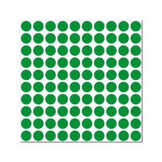 1000 Klebepunkte 10mm selbstklebend Punkt Aufkleber PVC Folie Etiketten Inventur