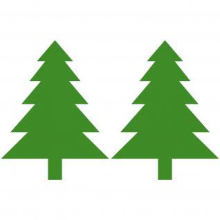 Tanne Tannenbaum Weihnachtsbaum Aufkleber Fenster Deko Folie Winter Weihnachten