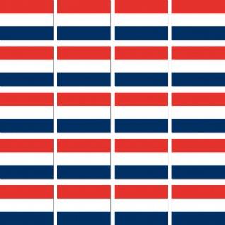 20 Aufkleber 2cm Niederlande NL Holland Fahne Flagge Mini Sticker RC Modellbau
