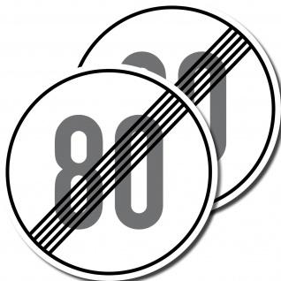 2 Aufkleber 10cm mindestens 80 kmh km/h schnell Mofa Quad Kart Vespa Roller Spaß - Vorschau 2