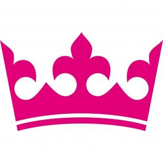 30cm pink Krone König Aufkleber Tattoo Kinder Zimmer Auto Heck Fenster Tür Möbel
