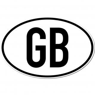 Aufkleber Sticker GB great britain UK England Auto Bus Lkw Länderkennzeichen