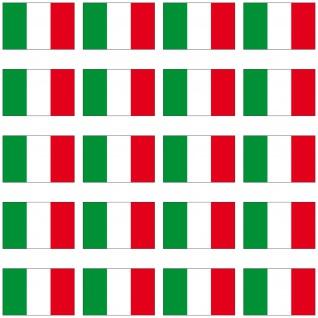 20 Aufkleber 2cm Italien Modellbau Ministicker Länder Flagge Fahne 4061963008959