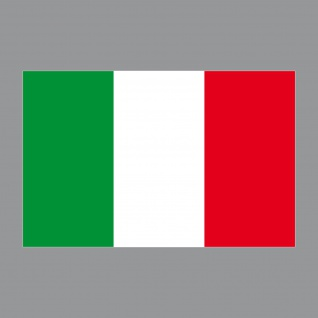 20 Aufkleber 8, 5cm Sticker Italien Italy Fußball EM WM National Flaggen Fahnen