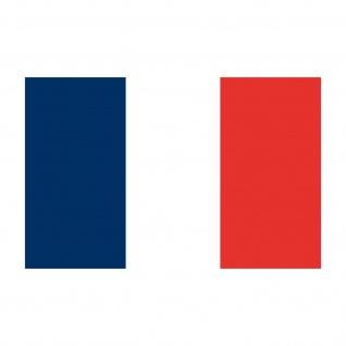 5 Aufkleber 8, 5cm Sticker FRA Frankreich EM WM Fußball National Flaggen Fahnen - Vorschau 3