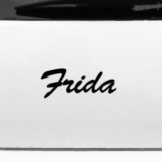 Frida 19cm Kinderzimmer Name Aufkleber Tattoo Deko Folie Auto Fenster Schrank
