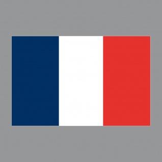 Aufkleber 8cm Sticker FRA Frankreich France Flagge Fahne Fußball Fan EM WM Deko