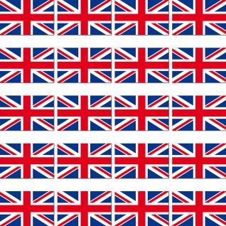 20 Aufkleber 2cm England UK GB ENG Länder Fahne Flagge Mini Sticker RC Modellbau