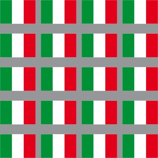 20 Aufkleber 3cm Italien ITA Italy Länder Flagge Fahne Mini Sticker RC Modellbau