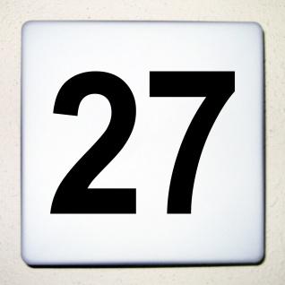 Ziffer Nr 1 schwarz 12cm Zahl Hausnummer Haus Nummer Aufkleber Tattoo Deko Folie - Vorschau 1