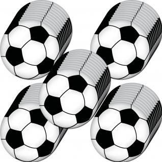 50 Aufkleber 10cm Sticker Ball Fußball EM WM Fußballaufkleber Fußballsticker