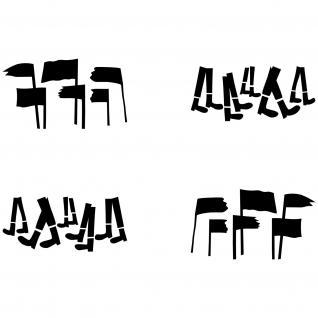 Aufkleber 30cm Tattoo Folie Auto Depeche Mode Spirit Fahnen Beine Fuß Revolution