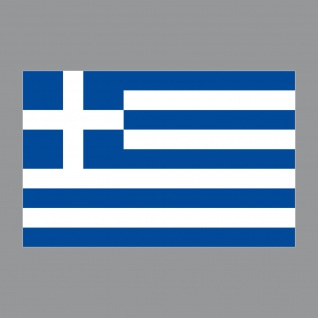 20 Aufkleber 8, 5cm Sticker GR Griechenland Fußball EM WM National Flagge Fahne - Vorschau 4