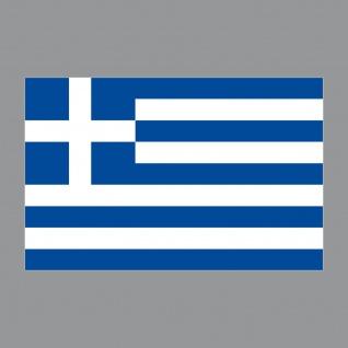 3 Aufkleber 8, 5cm Sticker GR Griechenland Fußball EM WM National Flagge Fahne - Vorschau 3