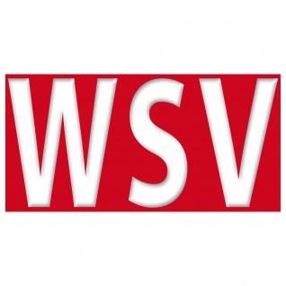 WSV Aufkleber 20cm Sticker Winter Sale Laden Schluss Aus Verkauf Aktion Rabatt