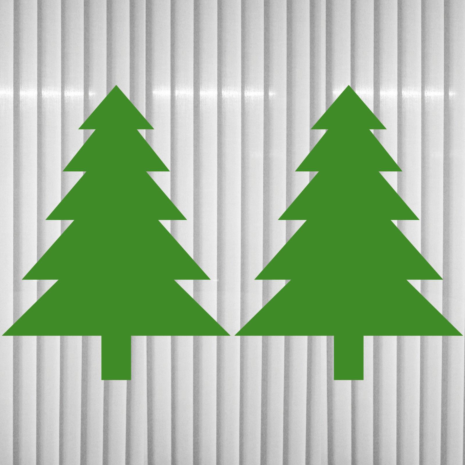 2 aufkleber 8 5cm tannenbaum tanne baum weihnachten. Black Bedroom Furniture Sets. Home Design Ideas