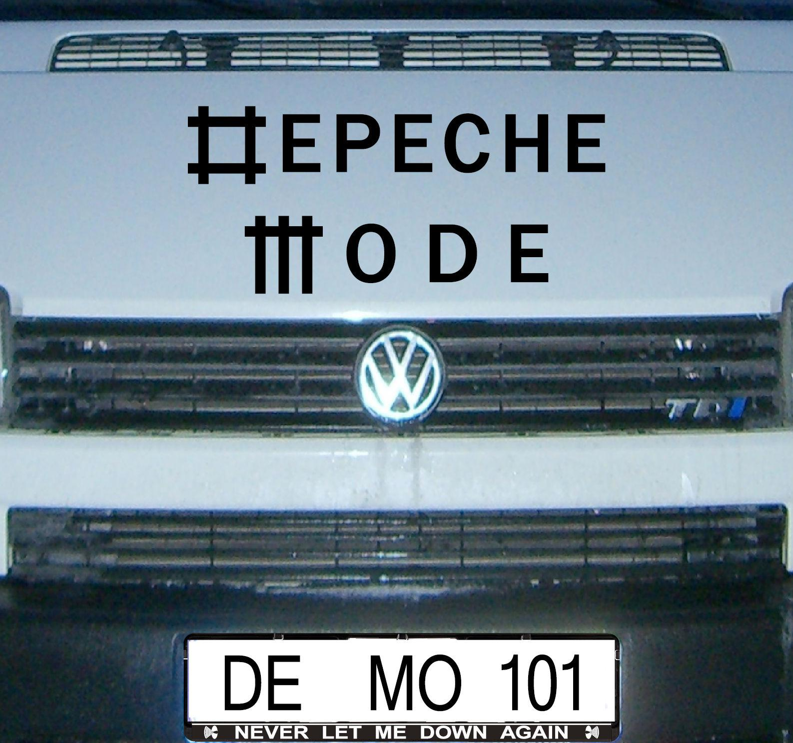 Universe Schriftzug Auto Fenster Tür Heck Folie Depeche Mode Aufkleber Tattoo