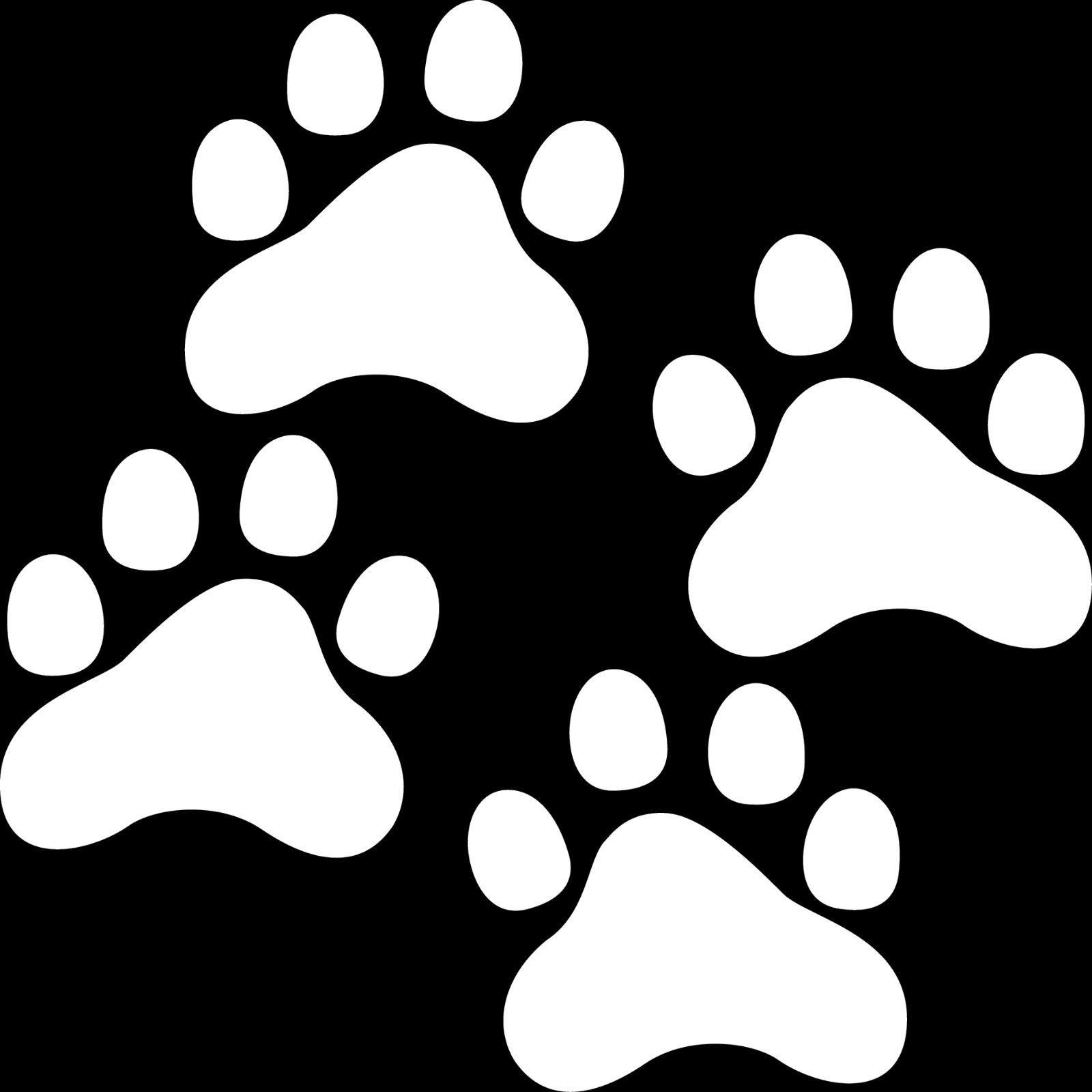 2 paar 7cm wei aufkleber pfoten pf tchen katze hund napf tattoo auto deko folie kaufen bei. Black Bedroom Furniture Sets. Home Design Ideas