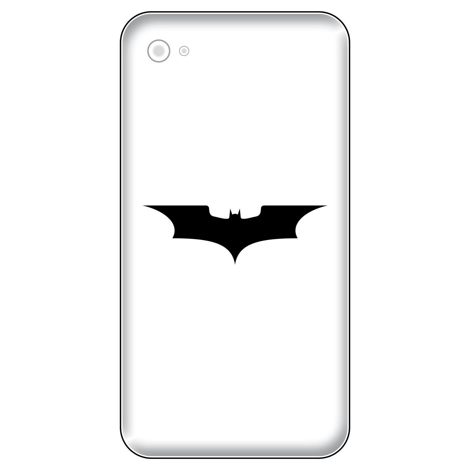 6 aufkleber tattoo 5cm schwarz batman neu fledermaus handy smartphone deko folie kaufen bei. Black Bedroom Furniture Sets. Home Design Ideas