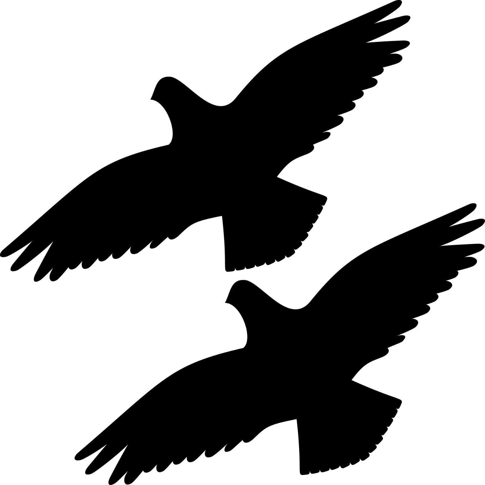 2 aufkleber 30cm schwarz vogel tattoo warnvogel fenster for Klebefolie fenster schwarz