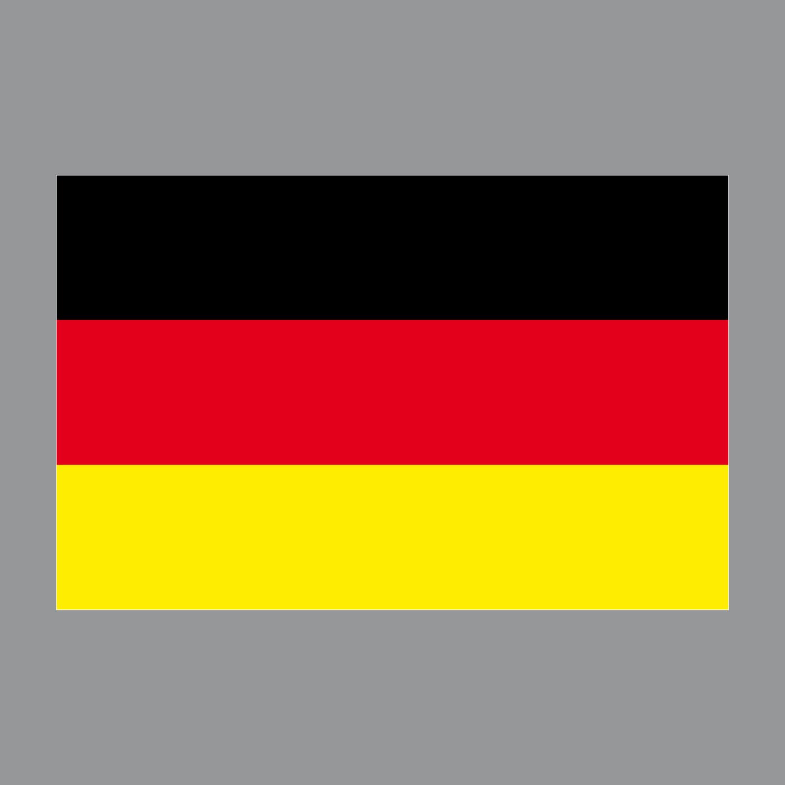 Aufkleber 8cm Sticker D Brd Deutschland Flagge Fahne Fussball Fan Em Wm Deko