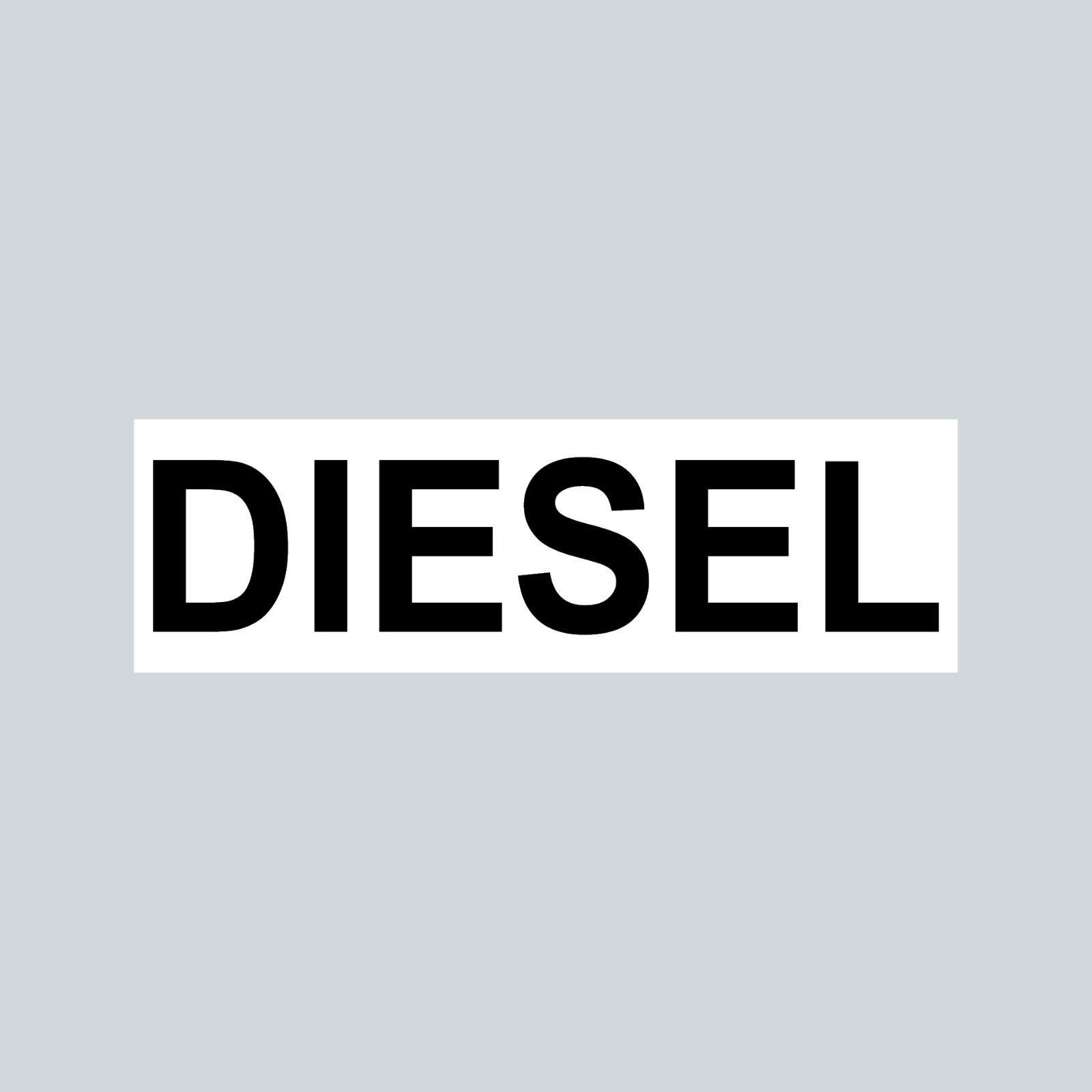 Aufkleber 6 5cm Sticker Diesel Kraftstoff Tanken Auto Tank