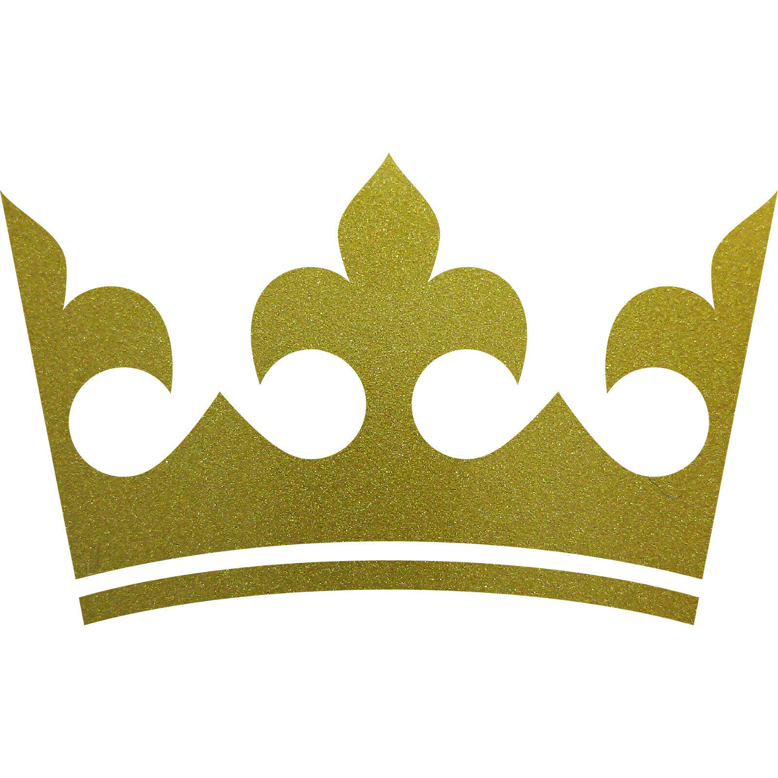 Aufkleber Krone 30cm gold Tattoo Kinder Zimmer Auto