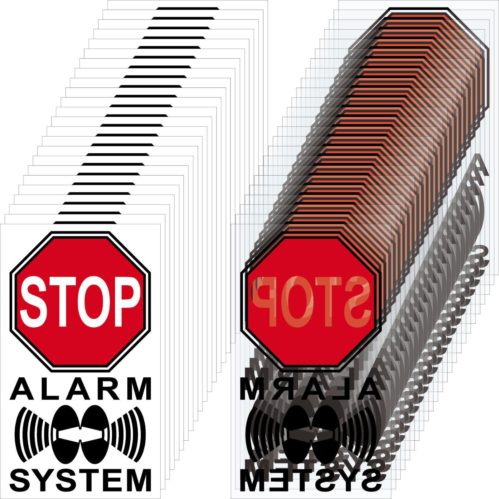 50+50 Aufkleber 4cm rot Sticker Alarm System Warnung Apotheke ...