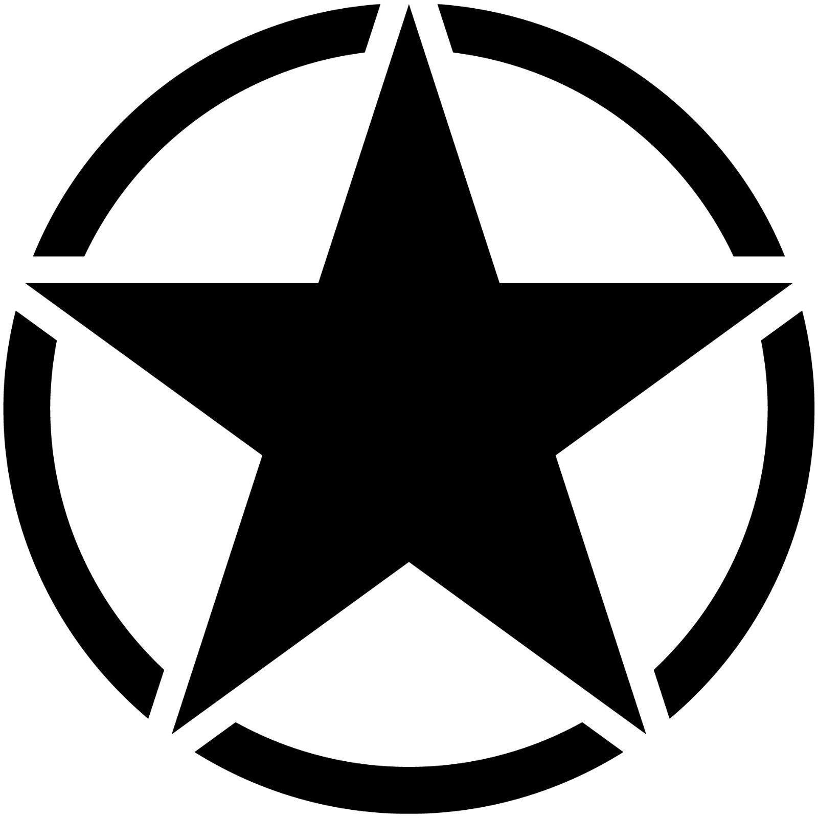 5 Star Jeep Dealers Colorado: US USA Army NAVY MP Stern Jeep Sterne Aufkleber Tattoo