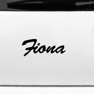 Fiona 19cm Kinderzimmer Name Aufkleber Tattoo Deko Folie Auto Fenster Schrank