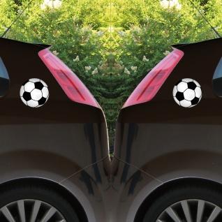 Aufkleber 15cm Sticker Ball Fußball Fan Fußballaufkleber Fußballsticker EM WM - Vorschau 4