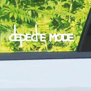 2 Aufkleber Tattoo 10cm weiß Exciter Depeche Mode Auto Pkw Fahrzeug Deko Folie