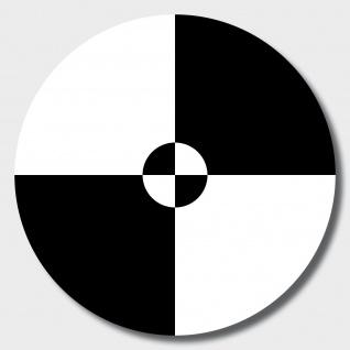 10 Aufkleber 10cm sw Sticker UV Fadenkreuz crash test crashtest dummy Zeichen