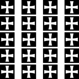 50 Aufkleber 2cm Sticker Eiserne Kreuz EK Zeichen Symbol Logo RC Modellbau