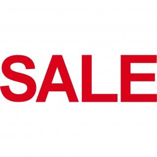SALE 150cm rot Aufkleber Tattoo Schriftzug Schaufenster Verkauf Deko Klebefolie - Vorschau 3
