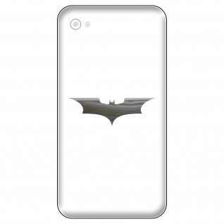 6 Aufkleber Tattoo 5cm chrom Batman neu Fledermaus Handy smartphone Deko Folie
